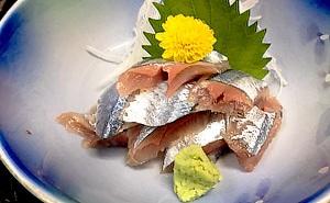 写真:秋刀魚刺身